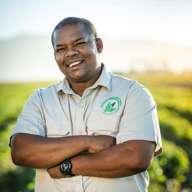 Sydney Claassen believes that if a farmer must be able to use their land optimally no matter how small the hectare. Photo: Kaap Agri.