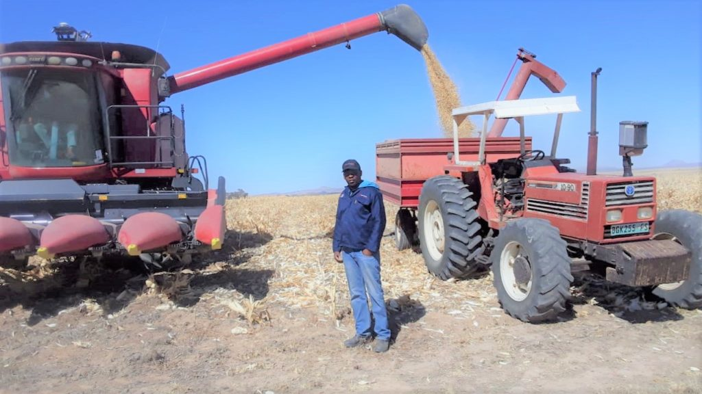 Bush Masiu says in farming there are no short cuts and that ones passion for farming will cause one to work both hard and smart. Photo: Supplied.