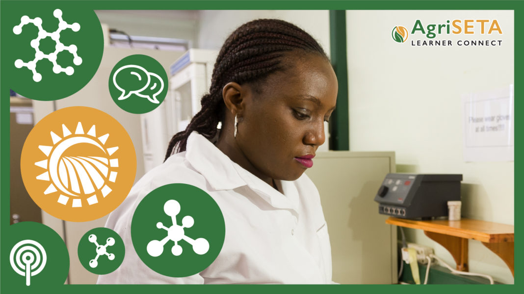 Lorraine Mhoswa, molecular scientist intern at SciCorp Laboratories.