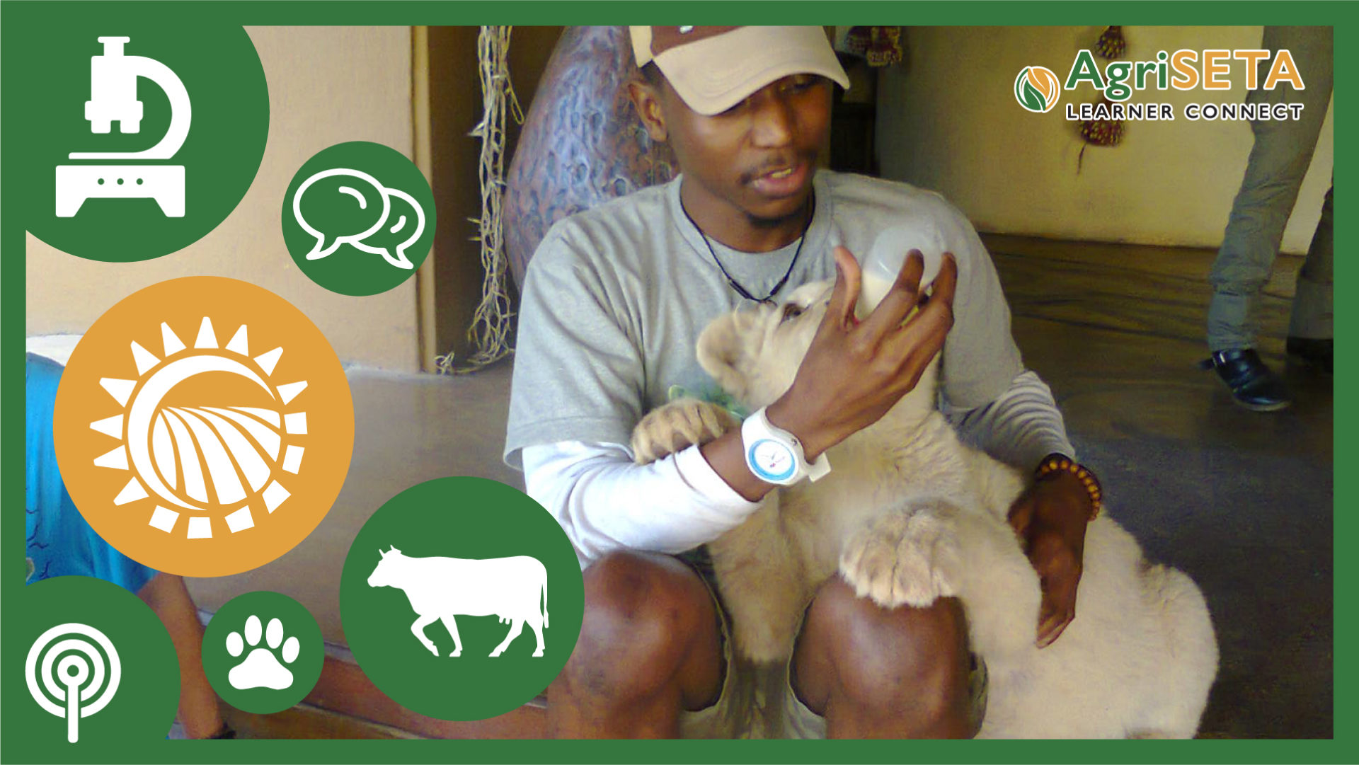 ThabisoPaulyMaenetje (27) is the founder and chief executive officer at Agripol Group.