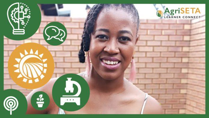 29-year-old, Thandekile Moganedi, biotechnologist at Starke Ayres.
