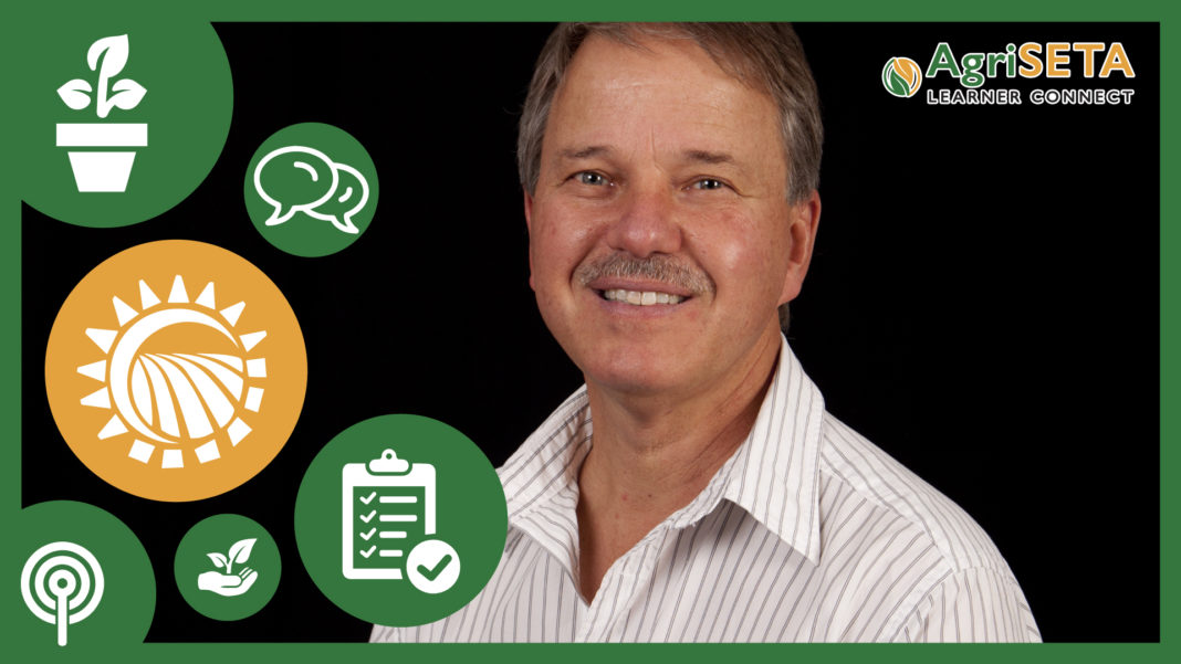 Lieb Venter, agricultural or farm consultant and the managing director at FarmVision.
