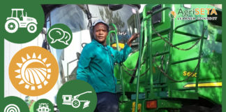 Mbangiswa Robert Kheswa is a tractor operator at Middenspruit Farm.