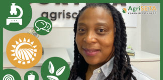 Viwe Ratiba, seed analyst and quality testing manager at Corteva Agriscience.