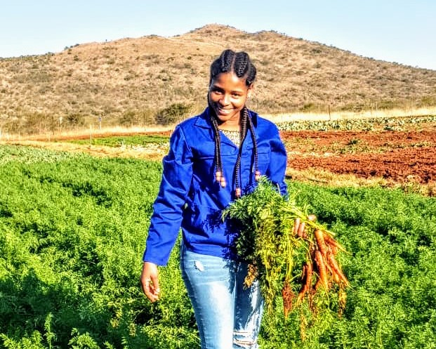 Eastern Cape farmer, Siphesihle Kwetana is still waiting for prize monies owed to for a YAFF award ceremony which took place in 2019. Photo: Supplied.