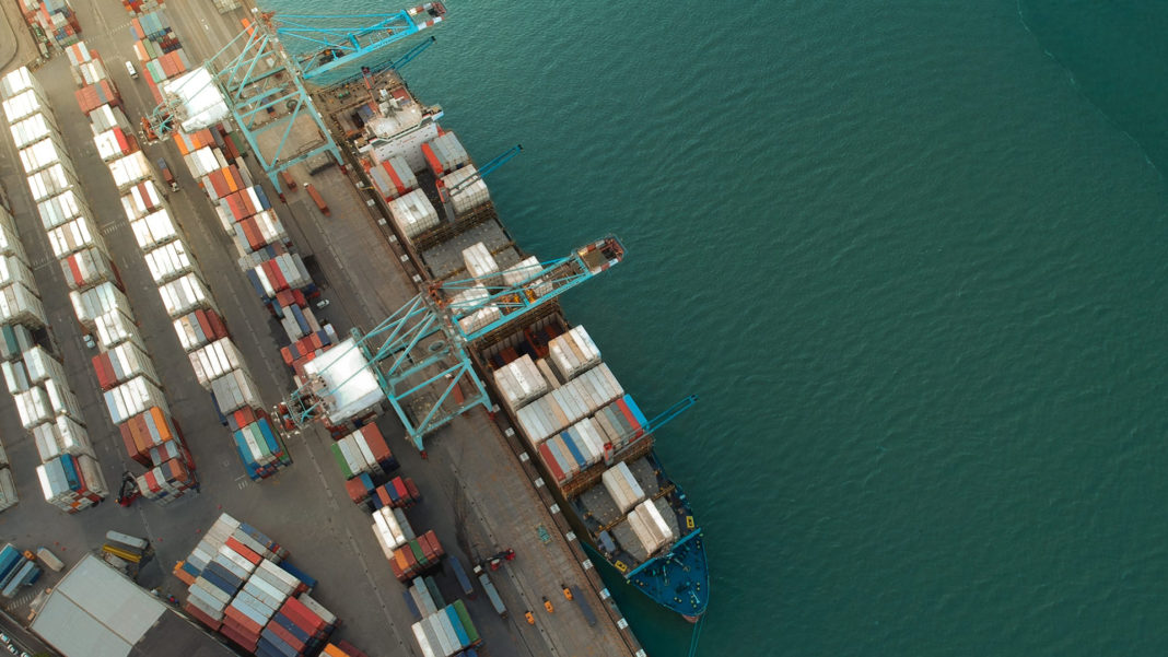 With travel restrictions eased, agricultural exports are steadily moving towards normality at Cape Town's port. Photo: Supplied