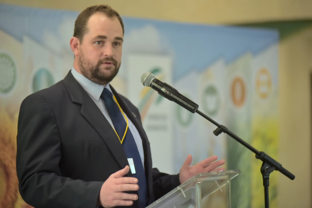 Dr Dirk Strydom, Grain SA's manager for grain economy and marketing. Photo: Supplied