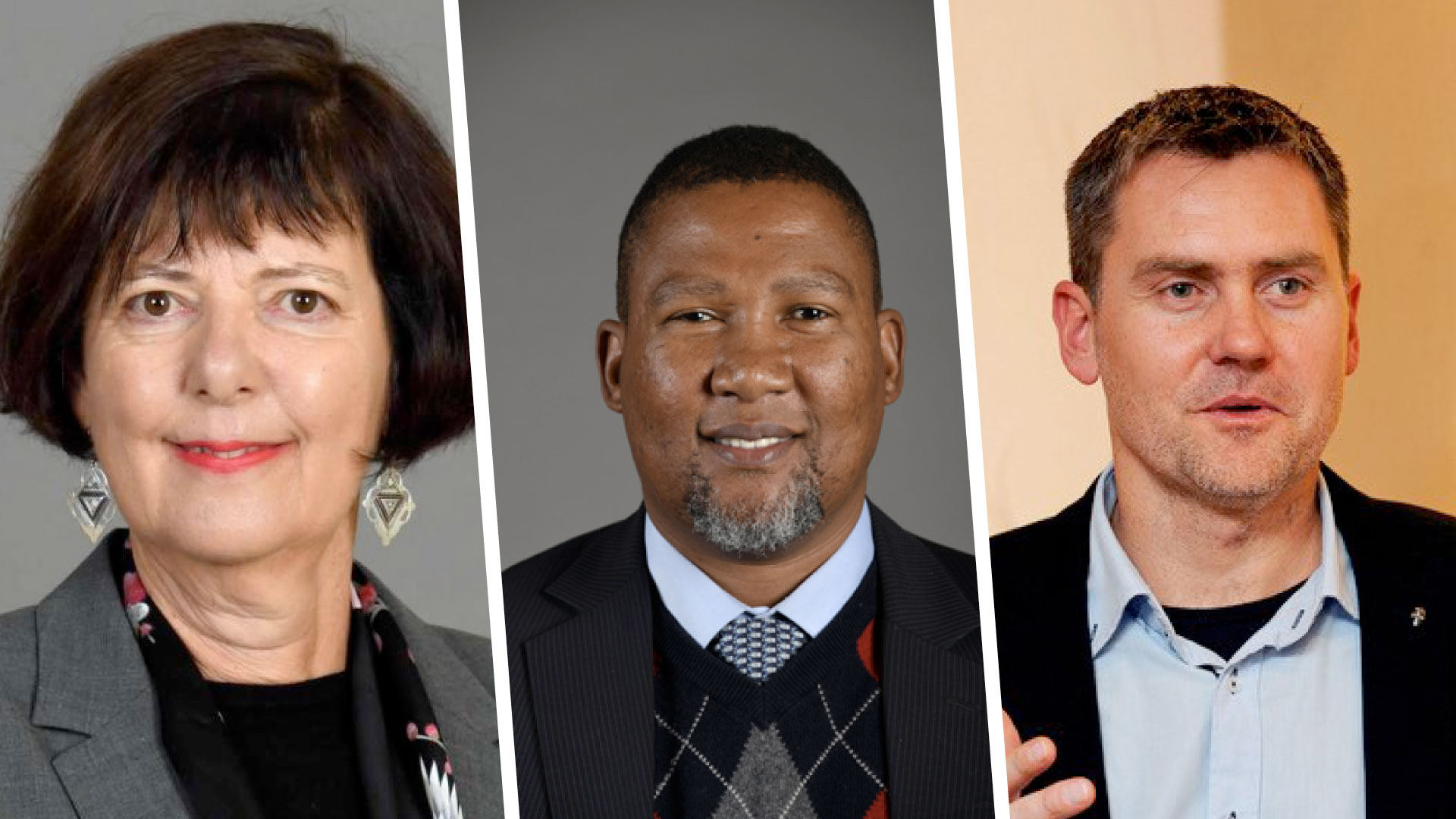 Pictured (from left) are Barbara Creecy, the minister of fisheries, forestry and the environment, Nkosi Zwelivelile Mandela, chairperson of the portfolio committee on agriculture, land and rural development, and Mark Tanton, Founder and Chief Executive Officer of Red Cap Energy. Photo: Supplied.