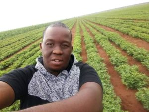 Rapper, Mo Molemi also knew he would return to agriculture. Photo: Supplied.