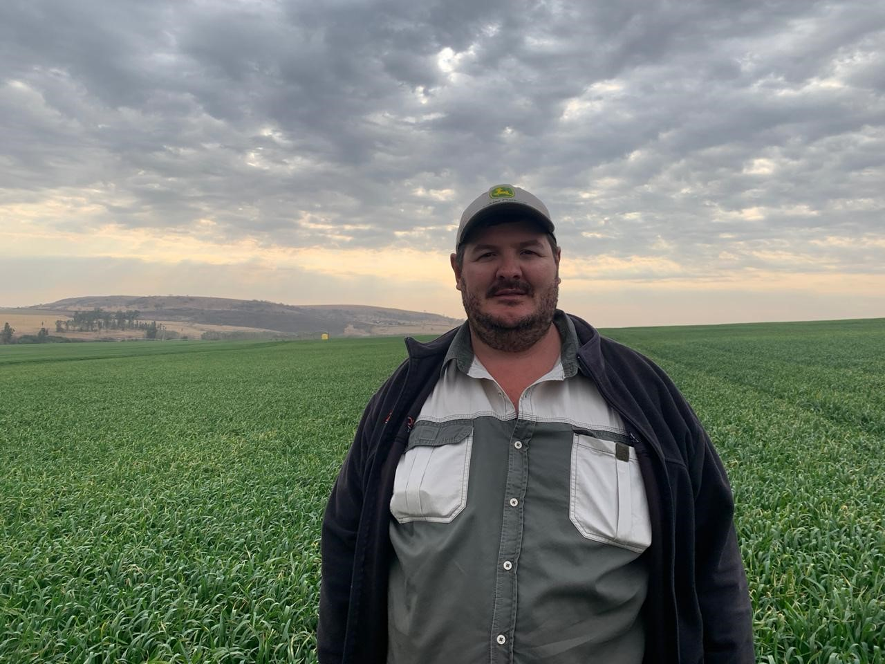 With a competition record of 5.12 ton per hectare, Clinton Frey was crowned the winner in the Grow for Gold category for soybeans in KwaZulu-Natal. Photo: Supplied