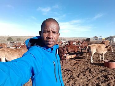 Letlhogonolo Phetlhane, a North West cattle farmer. Photo: Supplied