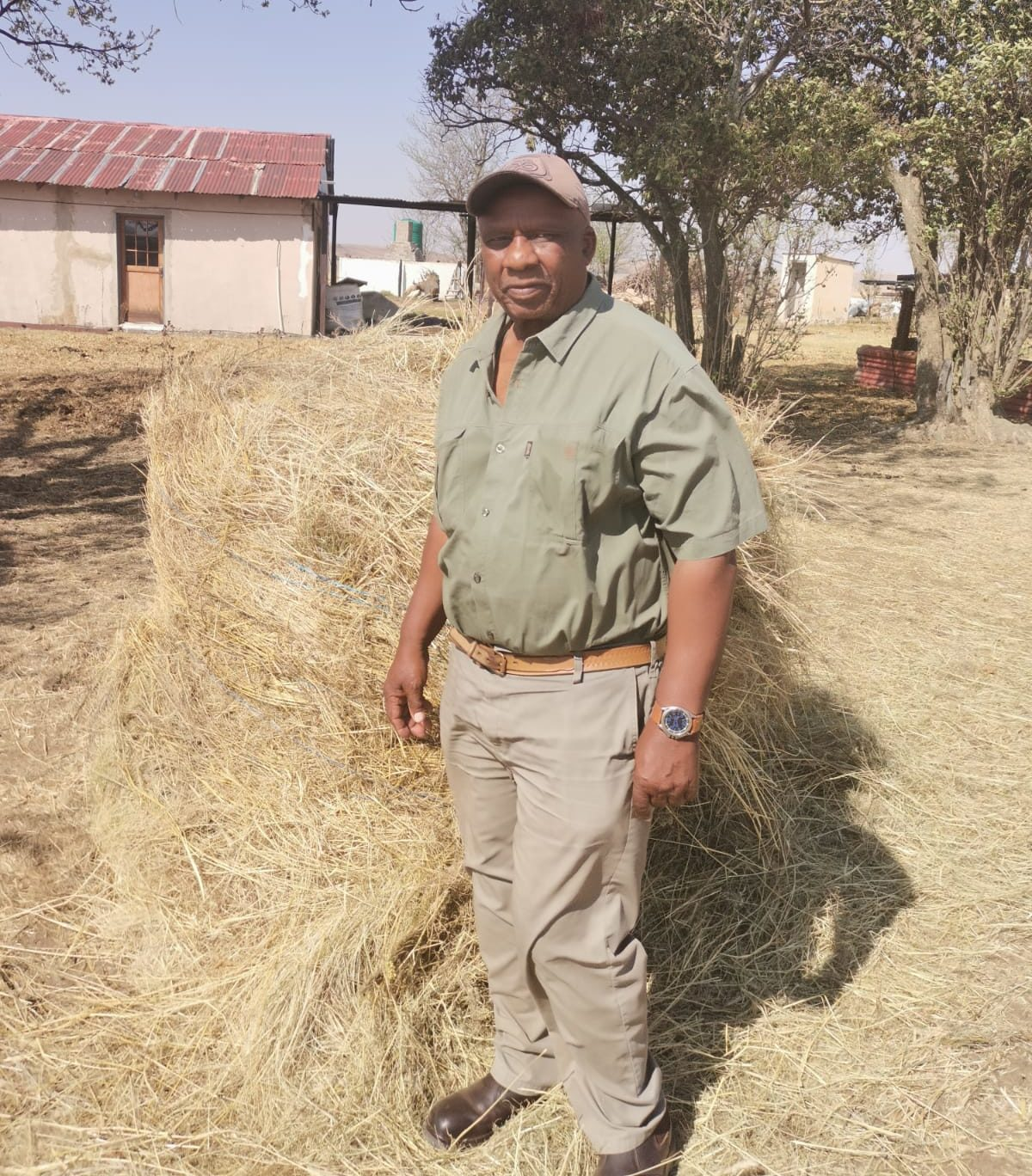 Samson Mahlaba (73) has wanted to farm since he was a child. Photo: Supplied/Food For Mzansi