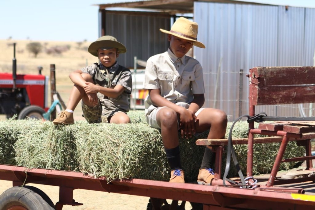 These are North West's coolest young aspiring farmers and they are already taking care of their own cattle.