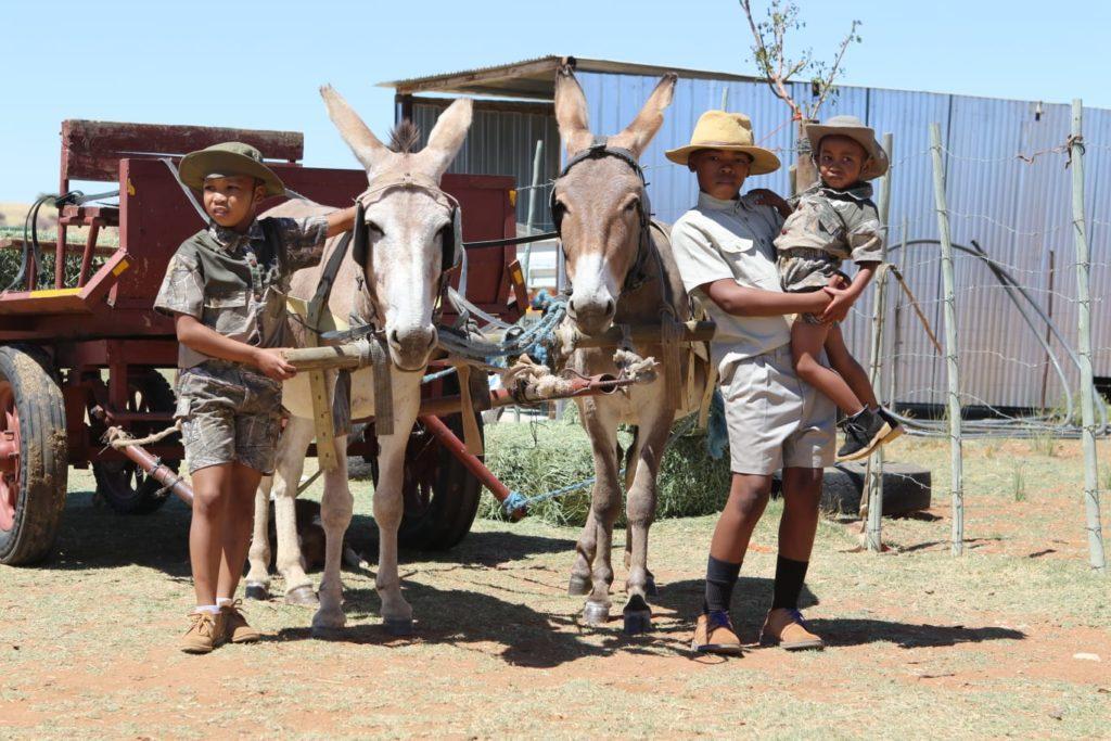 Pictured (from left) Kutlo Mongale, Samkelo Bangiwe and Khumo Pitso.