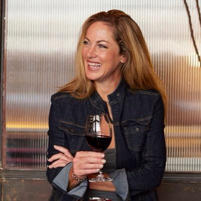Owner of the Bartinney Wine Estate, Rose Jordaan. Photo: Twitter