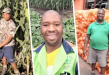 "Born with a leg deformity, 44-year-old Avhapfani ""Chillyboy"" Rathando always knew that he would live a spectacular life. Today, he runs two successful farming enterprises and wants to inspire others living with a living a disability. Photo: Supplied."
