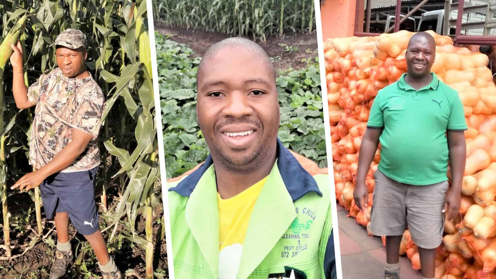 """Born with a leg deformity, 44-year-old Avhapfani """"Chillyboy"""" Rathando always knew that he would live a spectacular life. Today, he runs two successful farming enterprises and wants to inspire others living with a living a disability. Photo: Supplied."""