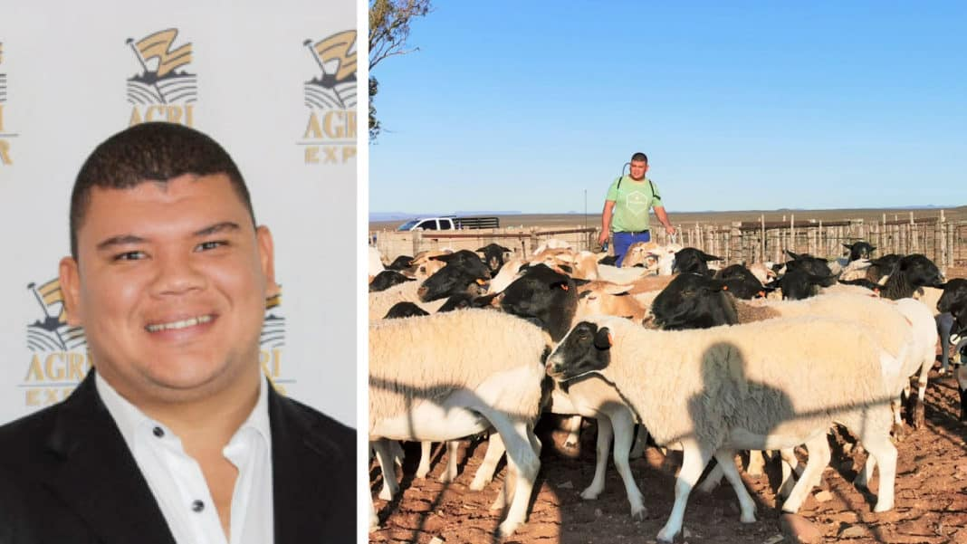 Breyton Milford wears many hats in the agricultural sector, but he does not mind it as long as all he does has a positive impact on the South African agricultural sector. Photo: Supplied.