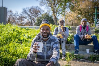 The Pebbles Kitchen works closely with NGO's to feed communities in the Western Cape.