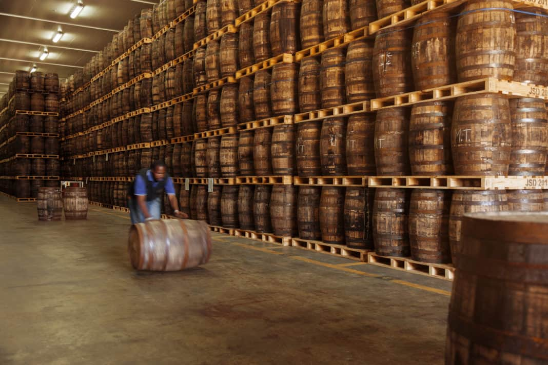 The James Sedgwick Distillery in Wellington in the Western Cape has recently won the title of Sustainable Distillery of the Year at the 2020 Icons of Whisky Awards held annually by Whisky Magazine in London. Photo: Supplied / Food For Mzansi
