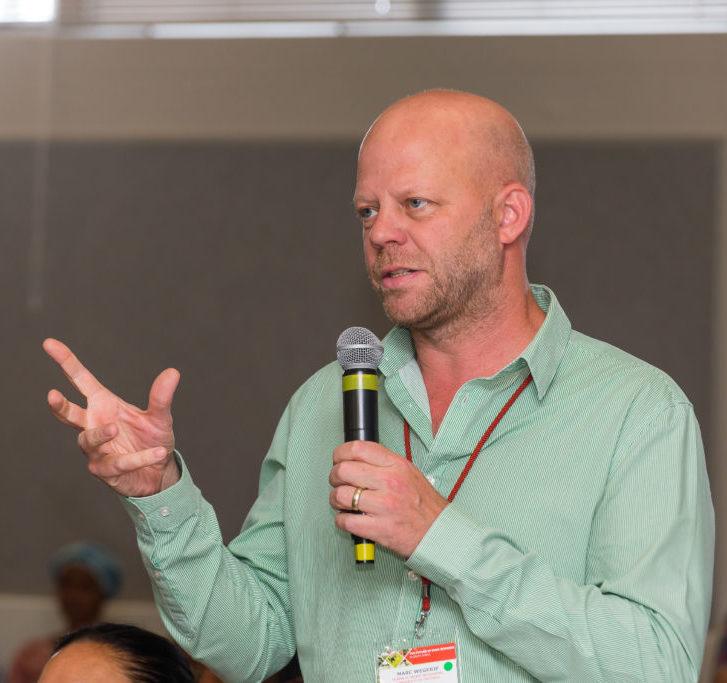 Dr Marc Wegerif of the department of development studies at the University of Pretoria. Photo: Shaun Roy Photography