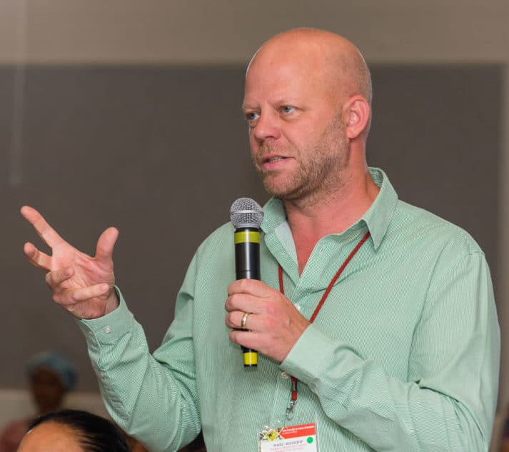 Dr Marc Wegerif of the department of development studies at the University of Pretoria. Photo: Shaun Roy Photography