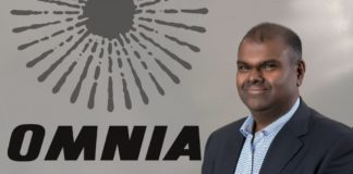 Seelan Gobalsamy, Omnia's CEO. Photo: Supplied