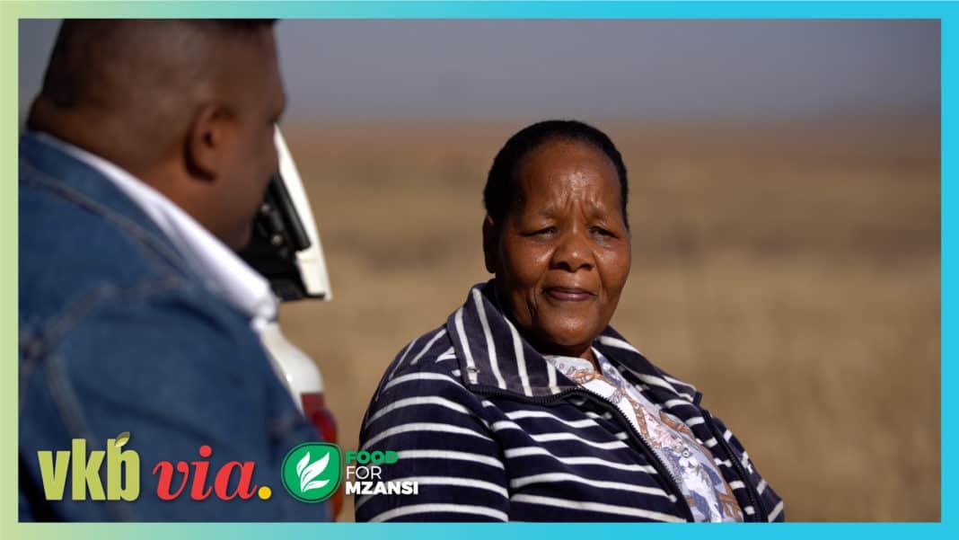Mahadi Mopeli (62) is featured in episode 6 of the agricultural TV show, Vir die liefde van die land. Photos: Wyrd Films.