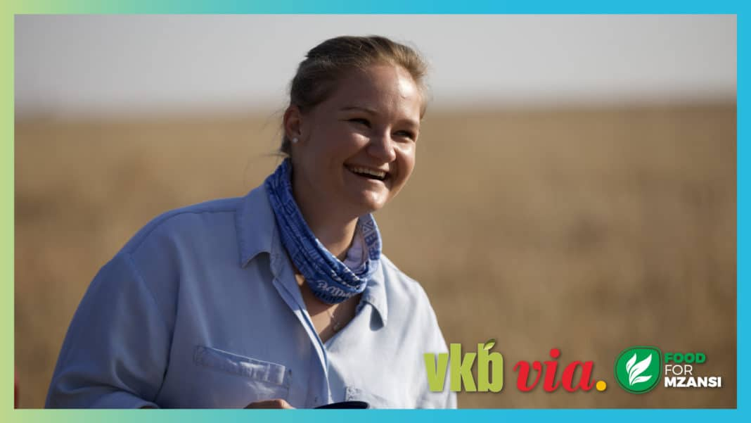 Episode 8 of the agricultural TV show, Vir die liefde van die land, features 25-year-old stud breeder, Annalea van Niekerk. Photos: Wyrd Films.
