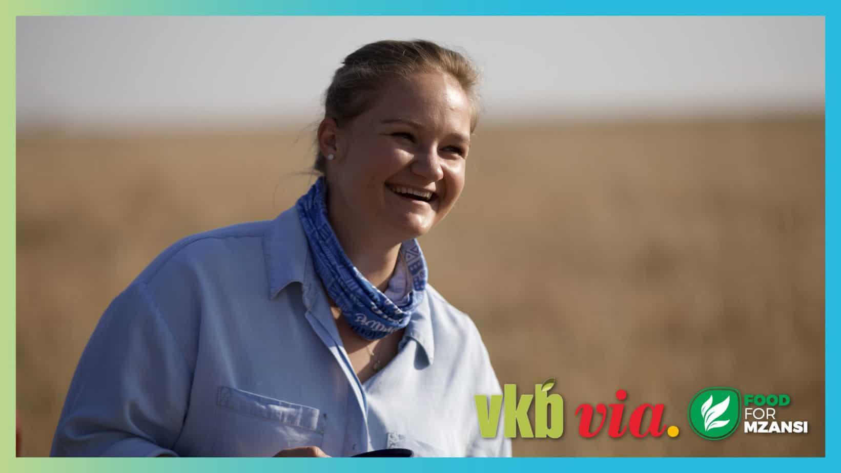Episode 8 of the agricultural TV show, Vir die liefde van die land, features 25-year-old stud breeder, Annalea van Niekerk. Photos: Wyrd Films.