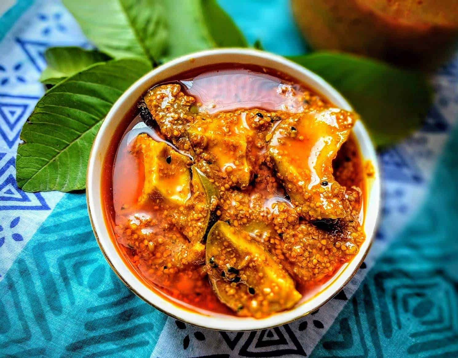 Traditional mango atchar is easily made at home and the amount of chillies added can be adjusted to your liking. Photo: Supplied