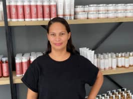 Marice Mecuur is the founder of Marice, a local skincare range that uses rooibos tea as a key ingredient to produce lotions, body butter and shower gels. Photo: Supplied/Food For Mzansi