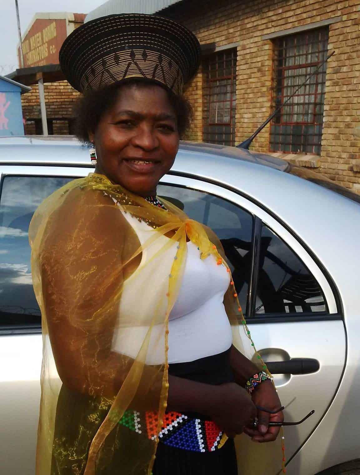 """Elizabeth (""""Lizzy"""") Monyela, the founder of the Thuthuzela Aid Community Centre in Alexandra, Gauteng. Photo: Supplied"""