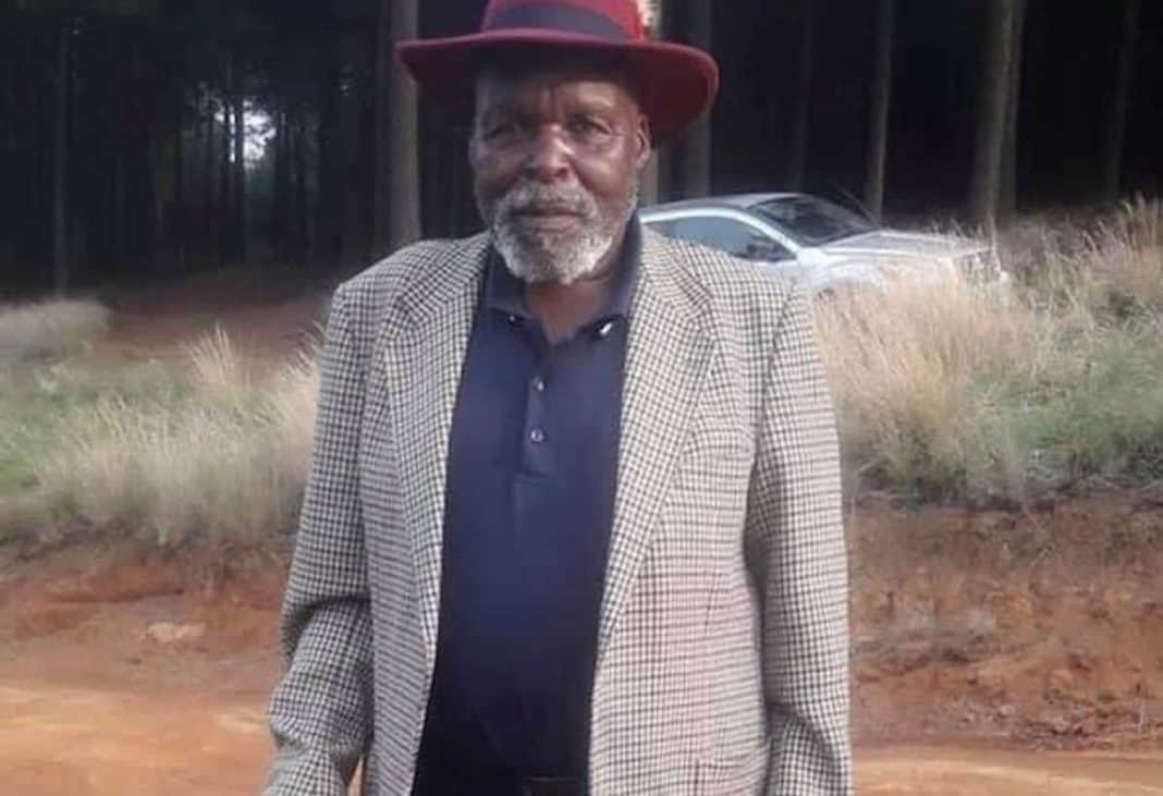 KwaZulu-Natal farmer Mpozana Khumalo (80) died in hospital last Friday after being attacked on his farm three days prior. Photo: Supplied