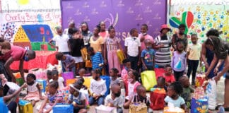 In the spirit of giving back and providing hope to the children of Mzansi, Potatoes South Africa has identified Thuthuzela Aid Community Centre in Alexandra, Gauteng as the venue to culminate its #AmazambaneForLife campaign by hosting a recent Christmas party. Photo: Supplied