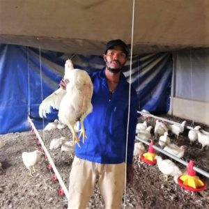 He believes agriculture has the ability to free anyone from poverty. Photo: Supplied.