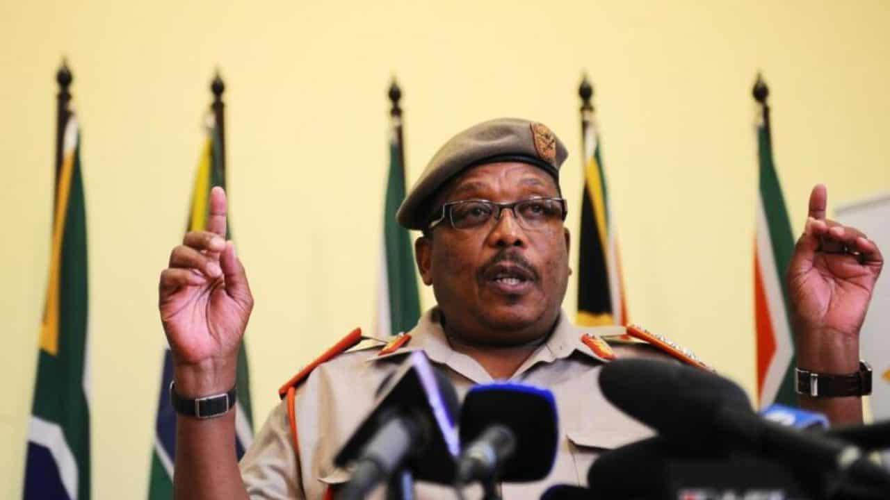 SANDF chief general Solly Shoke. Photo: DFA