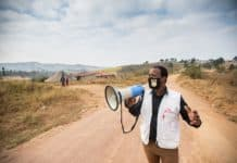 MSF has been working in the King Cetshwayo district in KwaZulu-Natal since 2011. Its programme now includes covid-19 awareness in rural communiies. Photo: Chris Allan