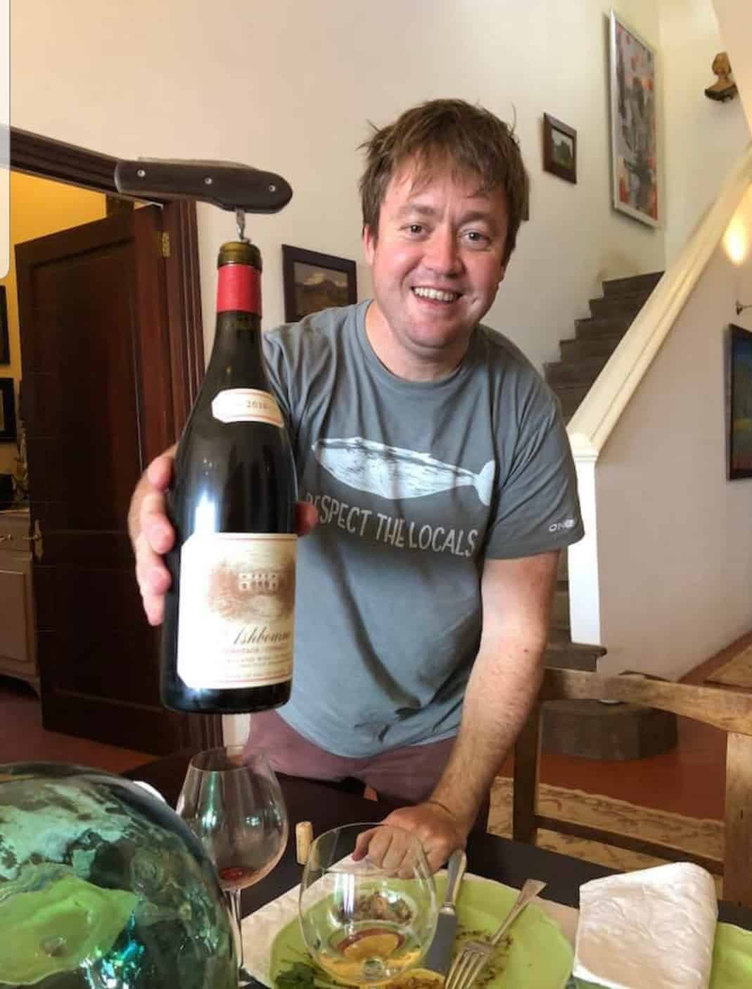 Emul Ross of Hamilton Russell Vineyards. Photo: Supplied