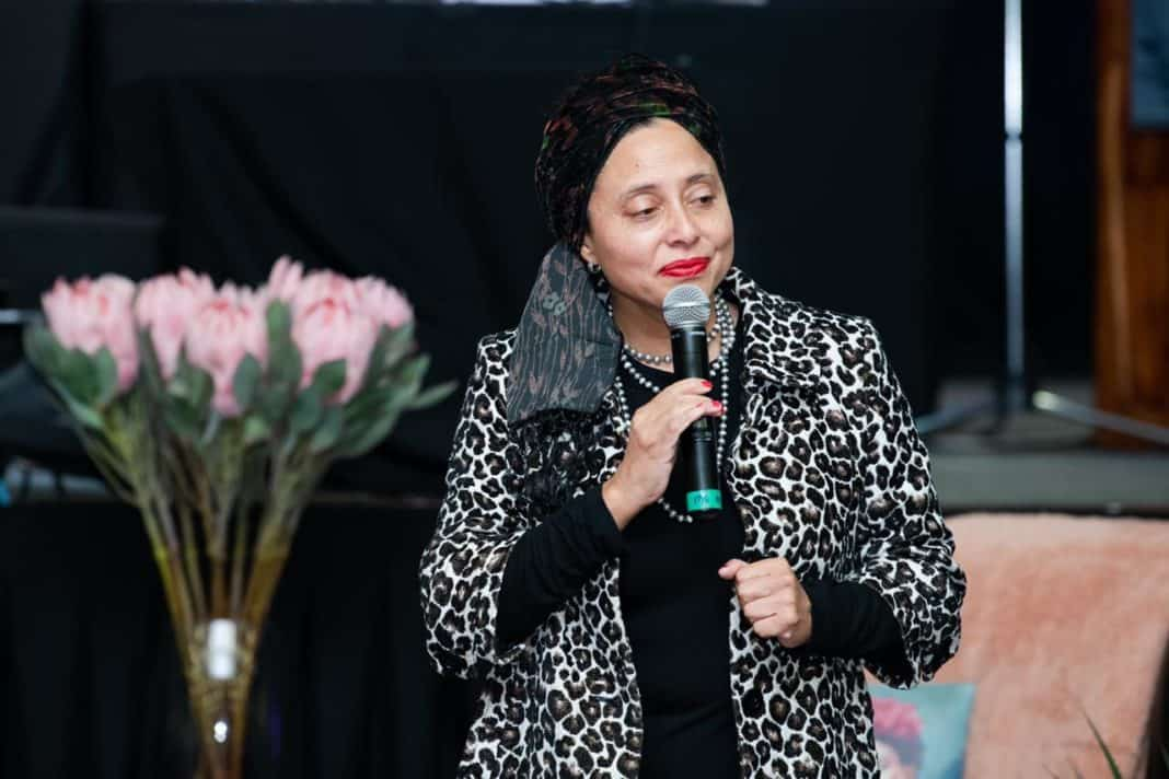 Not many people know that the Artscape CEO Dr Marlene le Roux hails from the farming community of Wellington in the Western Cape. Photo: Supplied