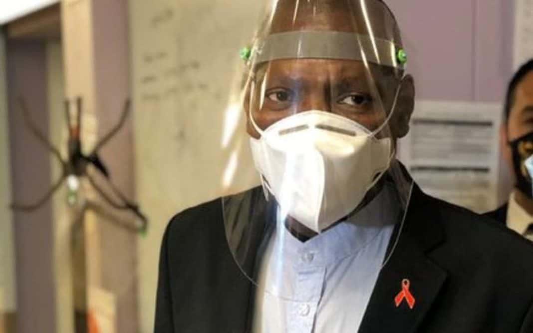 Health Minister Dr Zweli Mkhize. Photo: @DrZweliMkhize/Twitter