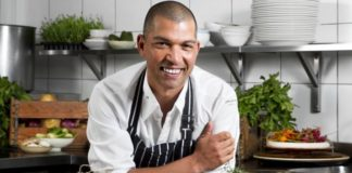 Celebrity chef, author, television host and restaurateur Reuben Riffel. Photo: Supplied