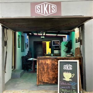 Siki's Koffee Kafe is a township coffee shop operating from a garage. Photo: Supplied/FoodForMzansi