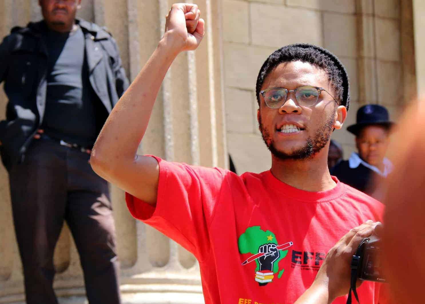 EFF national spokesperson Vuyani Pambo. Photo: Facebook
