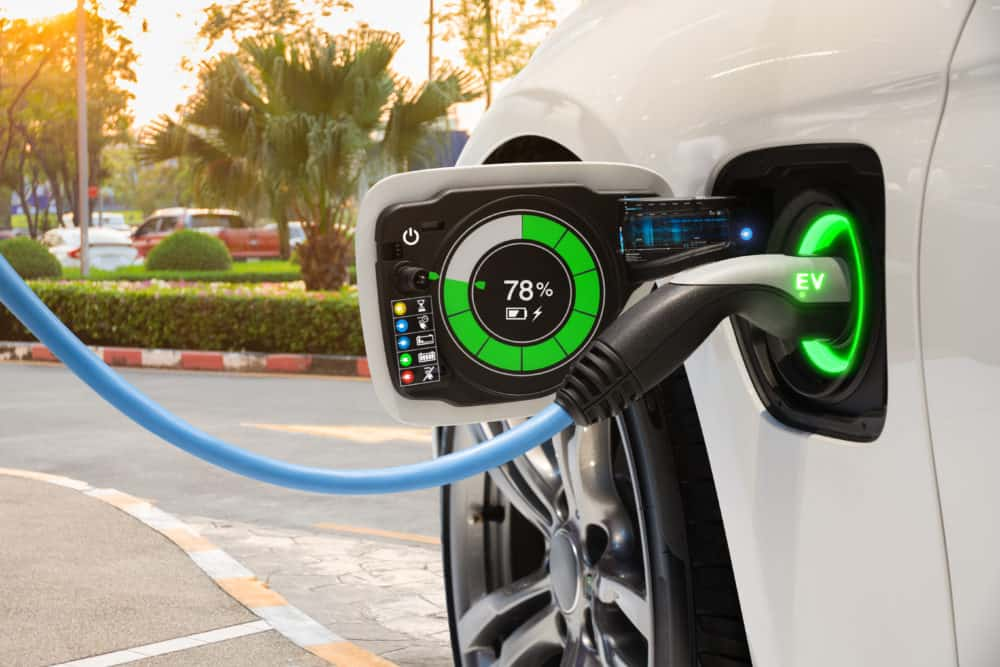The emissions created during the production of an electric car tend to be higher than a conventional car. This is due to the manufacture of lithium ion batteries which are an essential part of an electric car. Photo: Supplied