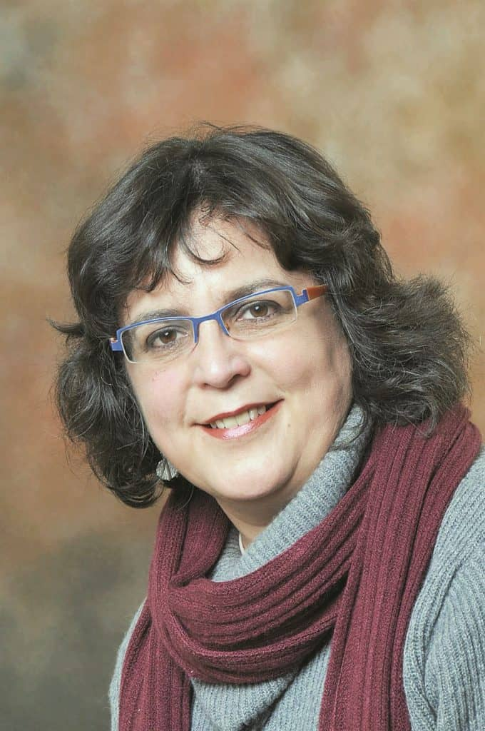 Women's Day: Amanda Gouws, professor of political science at Stellenbosch University. Photo: Supplied/Food For Mzansi