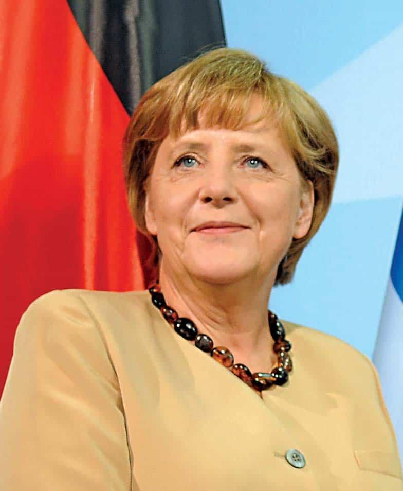 German Chancellor Angela Merkel. Photo: Supplied