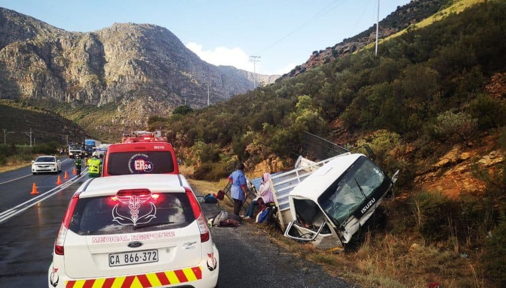 On 5 January 2021 the Western Cape was rocked by an accident in the Breede River Valley injuring farmworkers. Photo: FiND iT