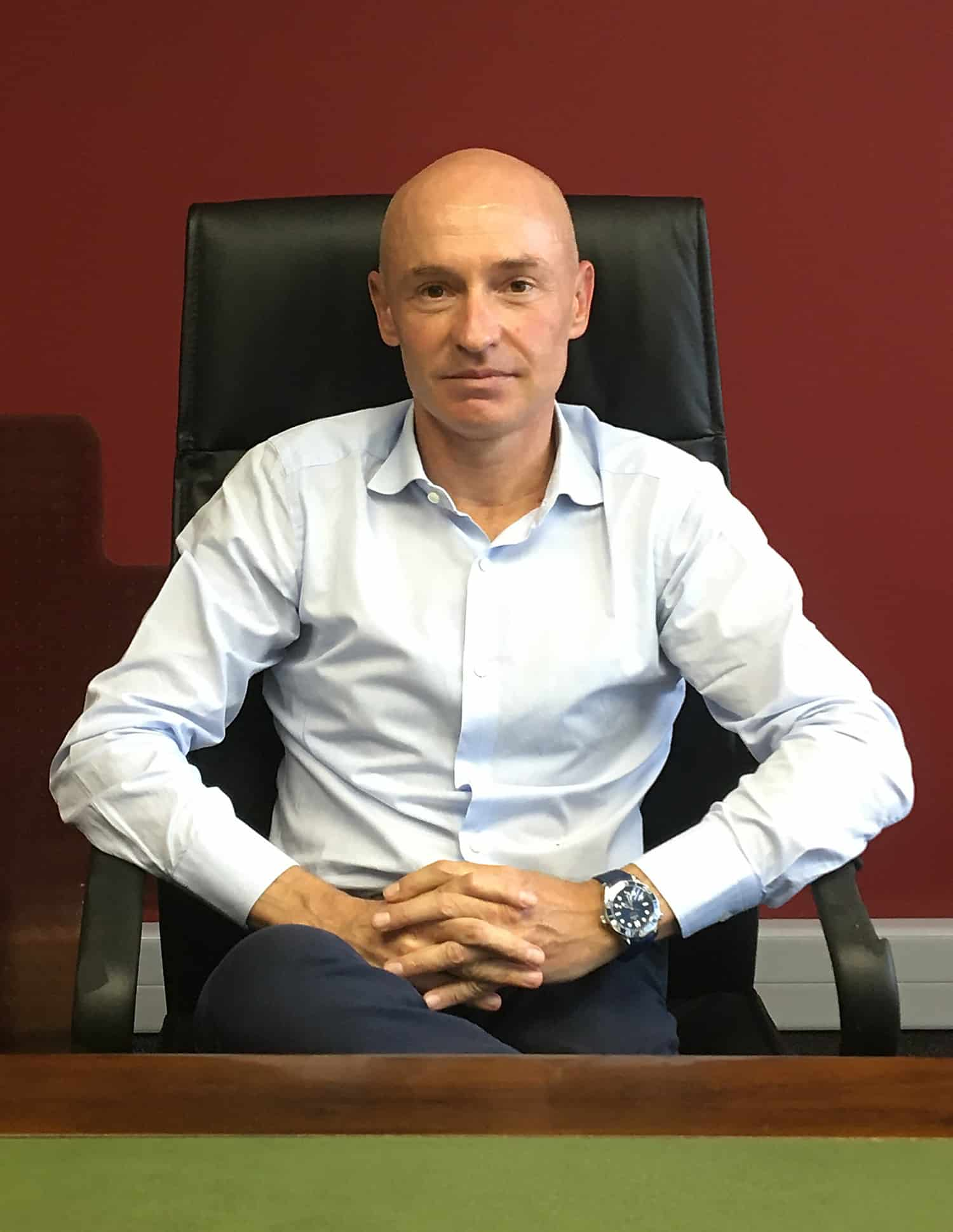 Federico Bellotto, the newly appointed head of agriculture and construction for CNH Industrial South Africa and South Africa Customs Union. Photo: Supplied