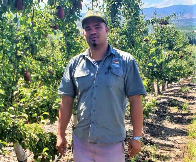 Paul Lombard is a former junior Olympian who has found his feet in the agricultural sector. Photo: Supplied/Food For Mzansi